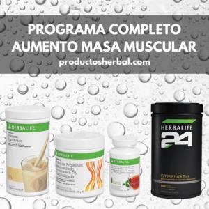 Programa Completo Aumento Masa Muscular Herbalife